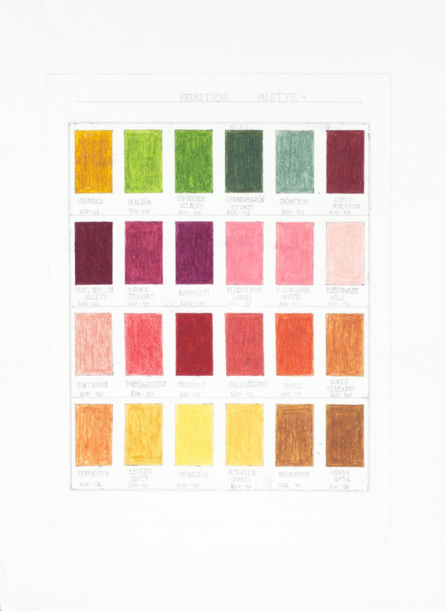 Farbstudie IV